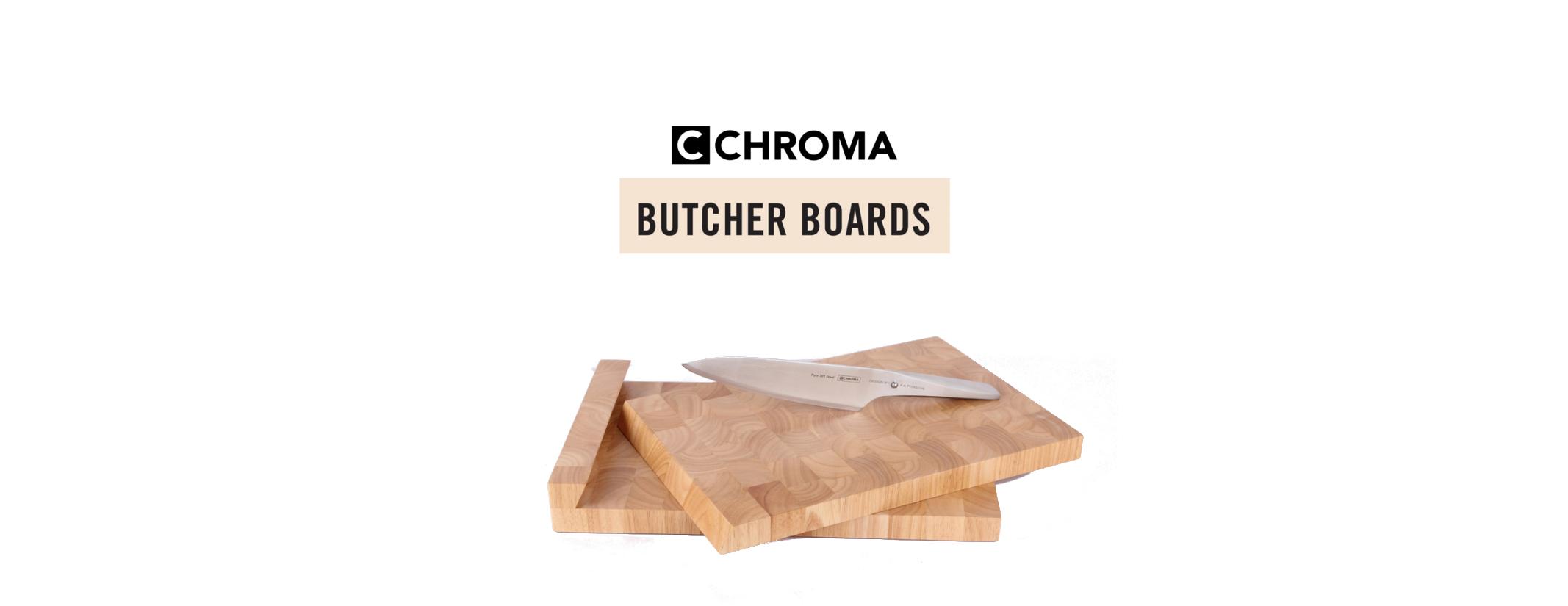 CHROMA Butcher Boards Schneidebrett Schneidunterlage