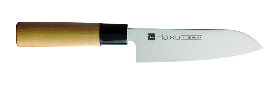 CHROMA Haiku original Santoku H-17