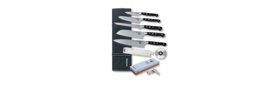 CHROMA JAPANCHEF Azubi Messerset 10 teilig START-01