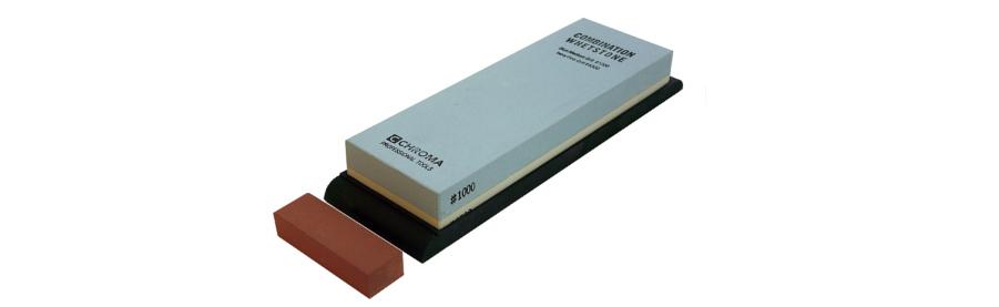 CHROMA Schleifstein Kombination Körnung 1000 / 6500 ST-1/6