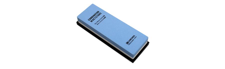 CHROMA Schleifstein Kombination Körnung 1200 / 4000 ST-124