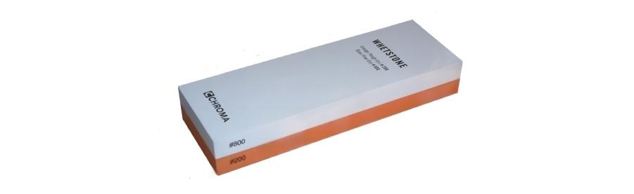 CHROMA Schleifstein Kombination Körnung 200 / 800 ST-2/8