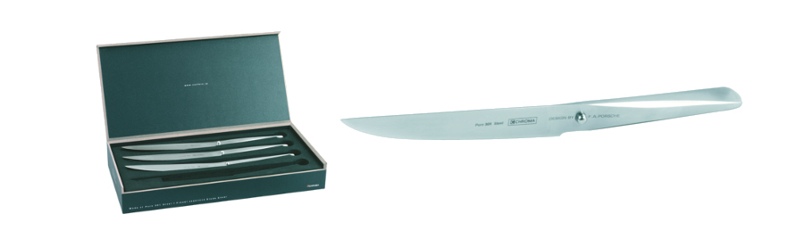 CHROMA type 301 Steakmesser-Set P16
