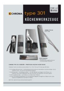 thumbnail of chroma-kuechenwerkzeuge-katalog