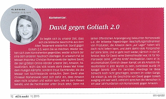 David gegen Goliath 2.0