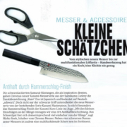 Kasumi Kuro Serie, mit dem Antihafttechnik mittels Hammerschlag